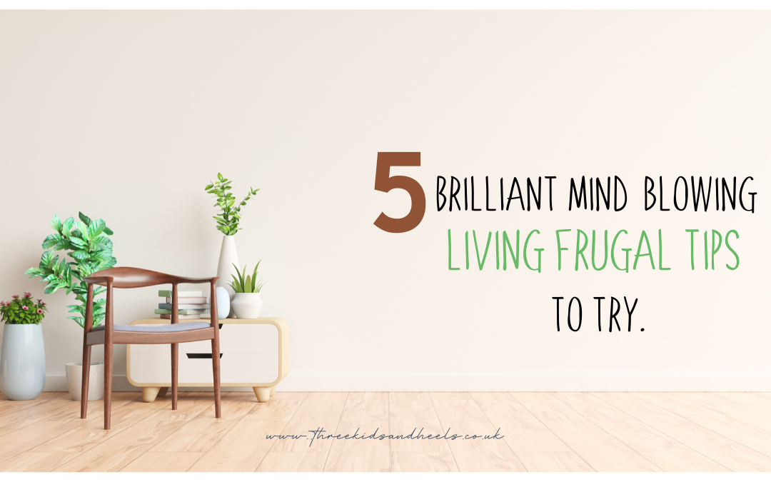 5 Brilliant mind-blowing living frugal tips to try.