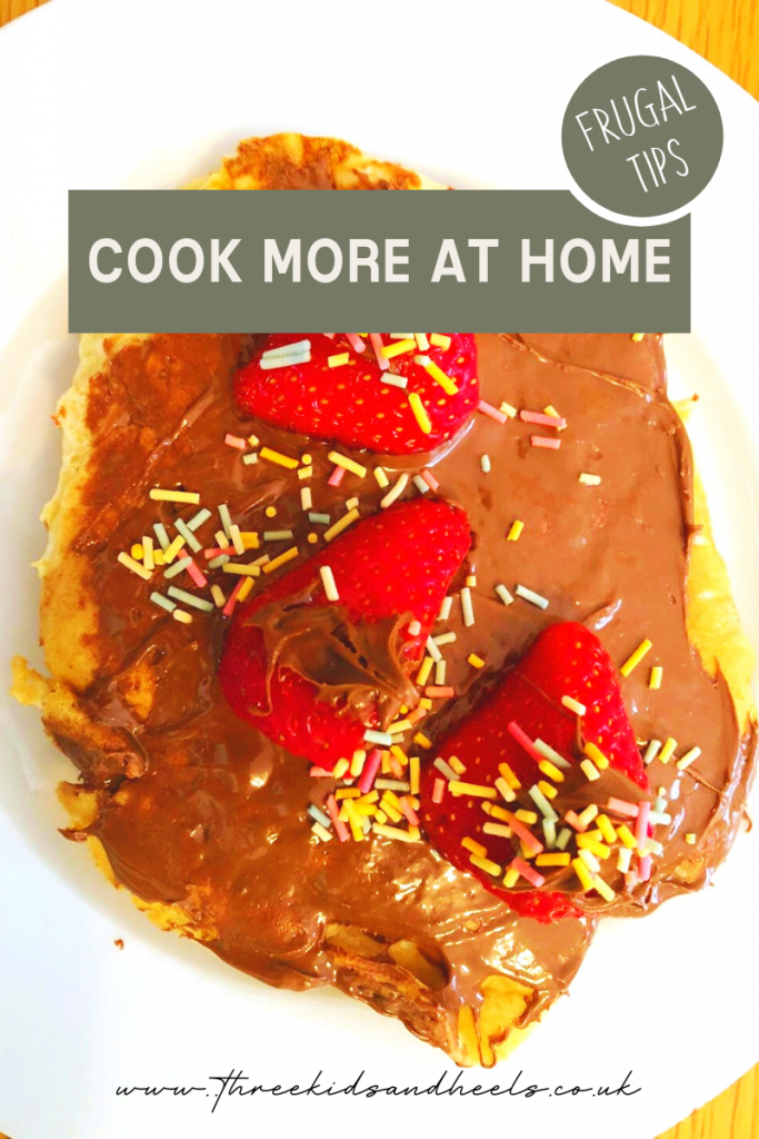 Cooking more at home is just one of the tips for frugal living.