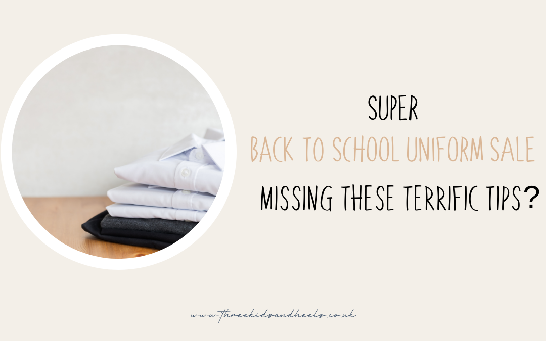 Super back to school uniform sale. Missing these terrific tips?