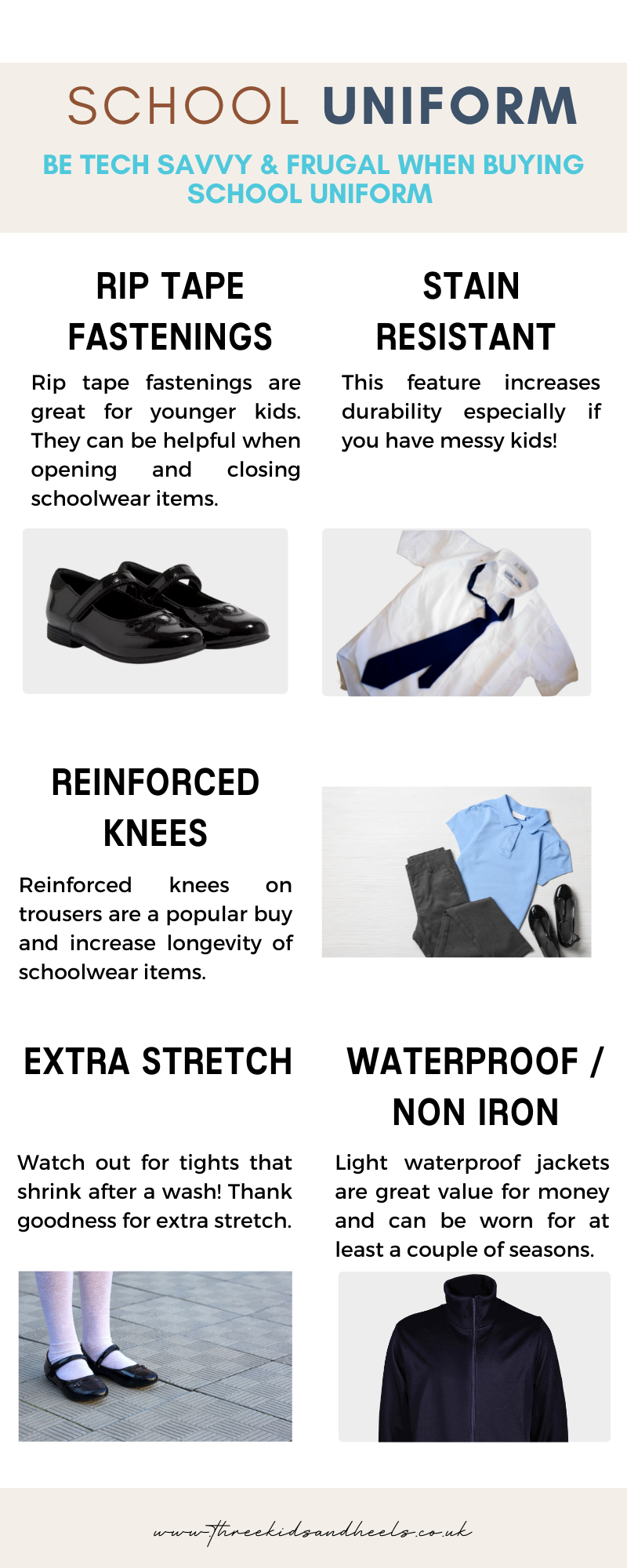 back to school uniform outfit ideas